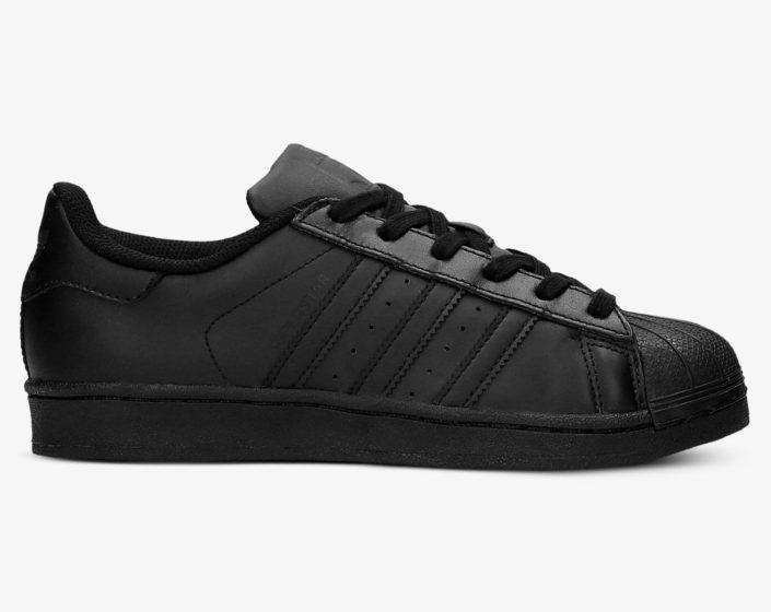 Adidas Superstar czarne – stylizacje